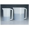 THERMO SCIENTIFIC NALGENE HDPE GRADUATED BEAKERS WITH HANDLE