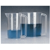 THERMO SCIENTIFIC NALGENE GRADUATED PMP BEAKERS WITH HANDLE