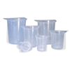SIMPORT TRICORN POLYPROPYLENE BEAKERS
